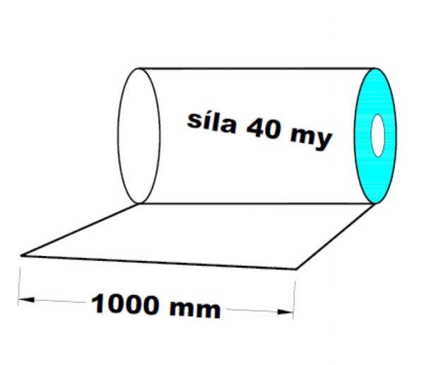 LDPE fólie 1000 mm 40 my 1 kg