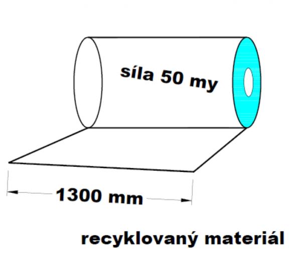 LDPE fólie 1300 mm 50 my 1 kg