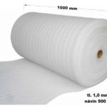 MIRELON Kročejová izolace PE 1000 mm / 1 mm