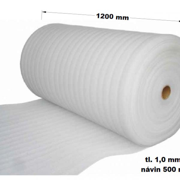 MIRELON Kročejová izolace PE 1200 mm / 1 mm