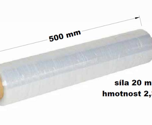Stretch folie 500mm x 2