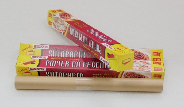 Sama papír na pečení 8 m x 38 cm v krabičce 1 role
