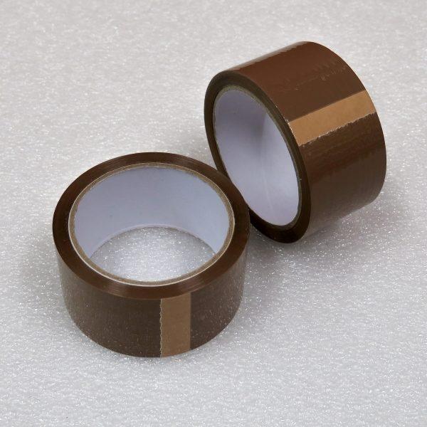 Lepicí páska hnědá (HAVANA) 40my - 48 mm / 60 m