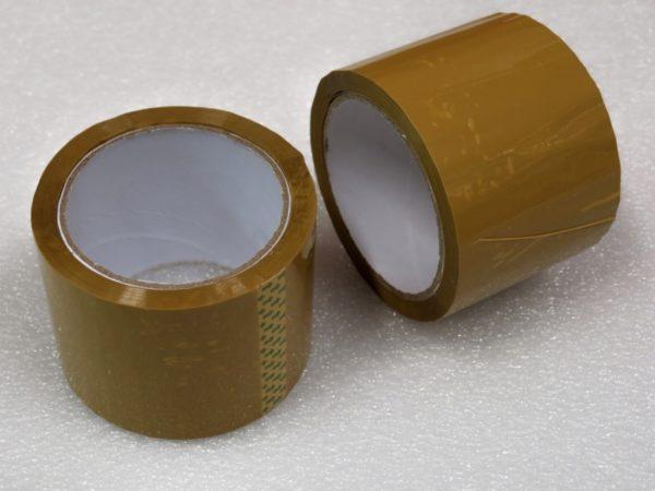 Lepící páska hnědá 60 m x 75 mm