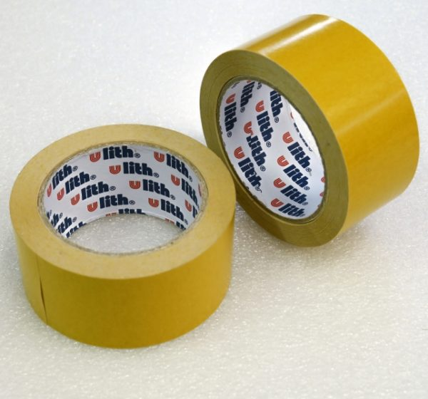 Oboustranná lepící páska s tkaninou 25 m x 50 mm