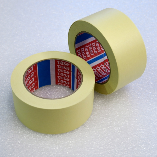 TESA páska lepící krepová 50mm x 50m žlutá