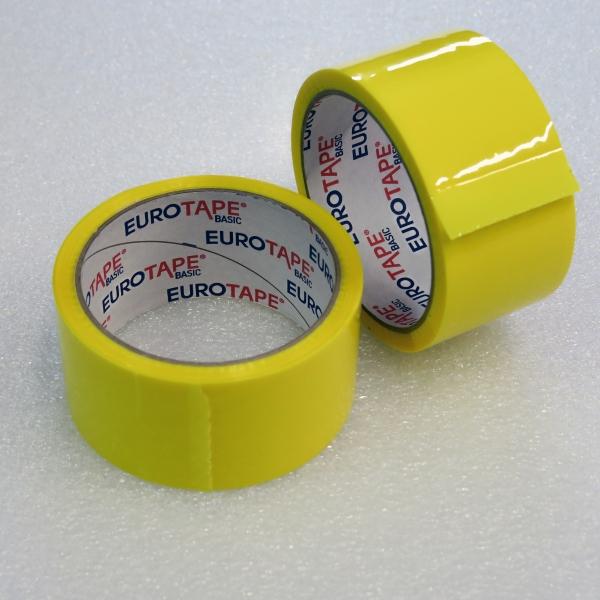 Lepící páska ŽLUTÁ - 48 mm / 66 m