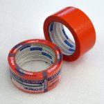 Páska lepící maskovací na hrubé povrchy 48mm x 20m oranžová Blue D