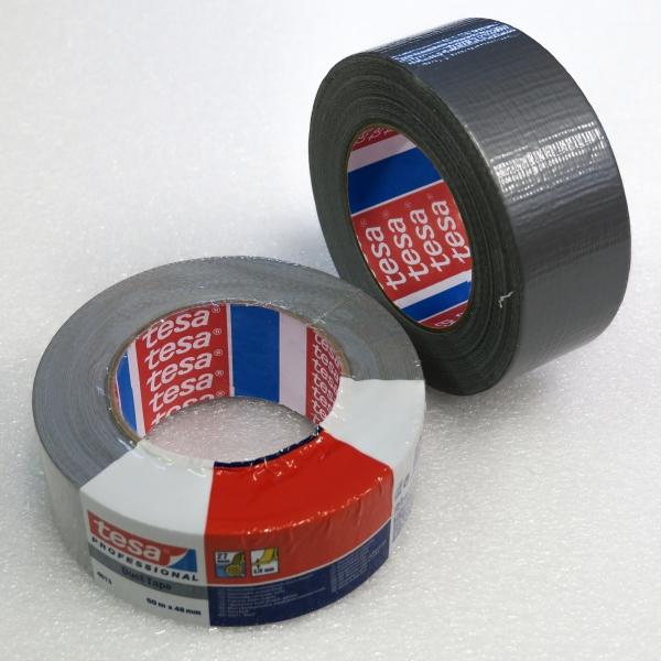 Samolepicí páska extra pevná 50mm x 50m - stříbrná