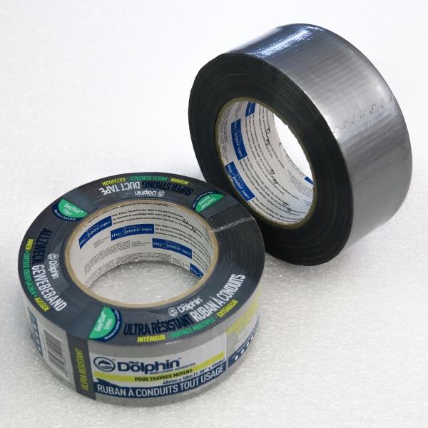 Lepicí páska textilní univerzální šedá 48 mm x 25 m
