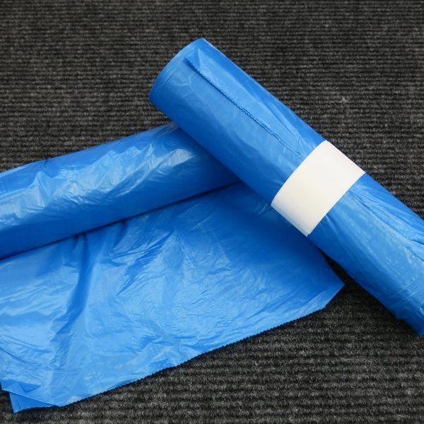 Mikrotenový sáček modrý 55 x 100 cm