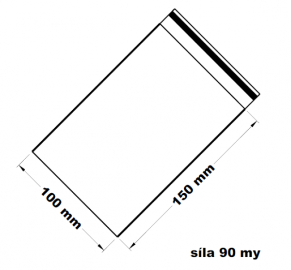 Rychlouzavírací sáček - extra pevné 10 x 15 cm