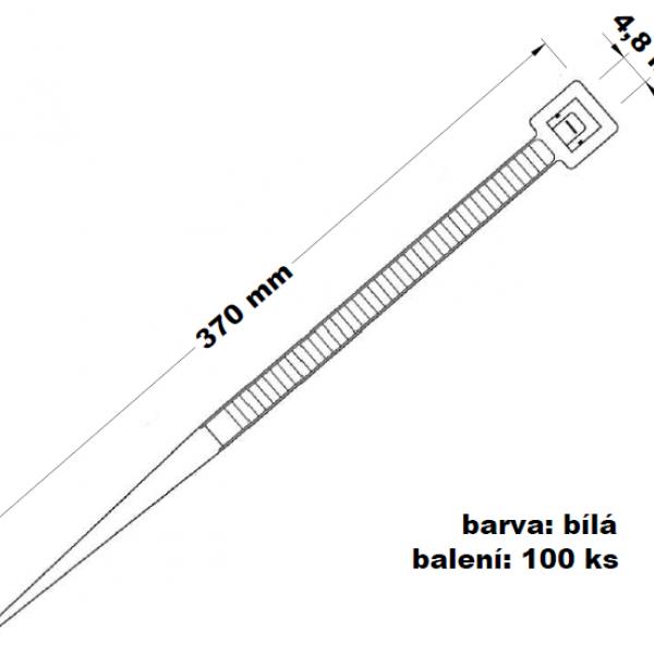 Páska stahovací 370 x 4