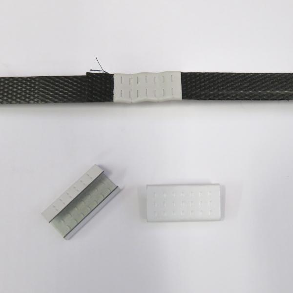 Spony vázací plechové pro pásku 12 mm [2500 ks]