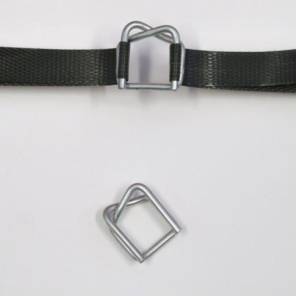Vázací spony zinkové pro pásku 9 - 12 mm [1000 ks]