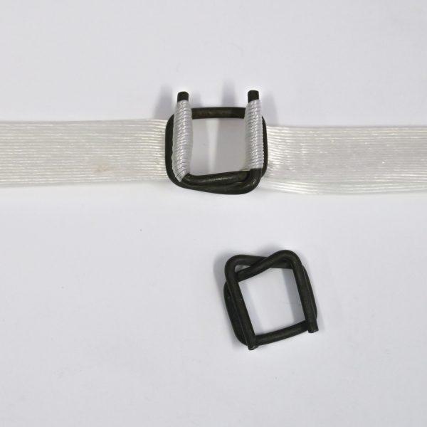 Vázací spony fosfátové 12B4 pro pásku 9 - 12 mm [1000 ks]
