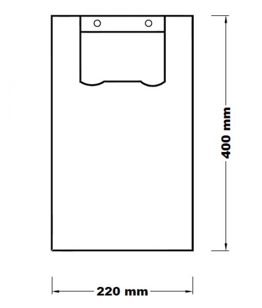 Mikrotenová taška 2 kg uzlová [100 ks]