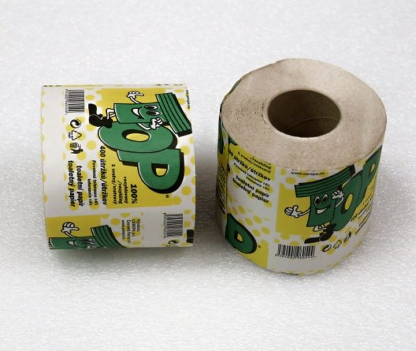 Cerepa toaletní papír 400 útržků 1-vrstvý