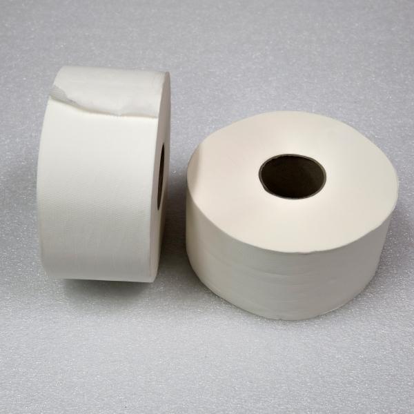Toaletní papír JUMBO průměr 190 mm 6 ks 1-vrstvý - šedý Jula 107815