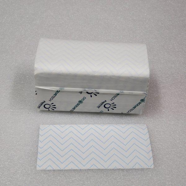 Papírový ručník skládaný 21x22 cm