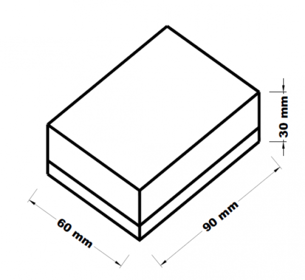 Houbička na nádobí 8x4