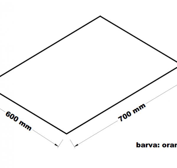 Hadr na podlahu - 60 x 70 cm