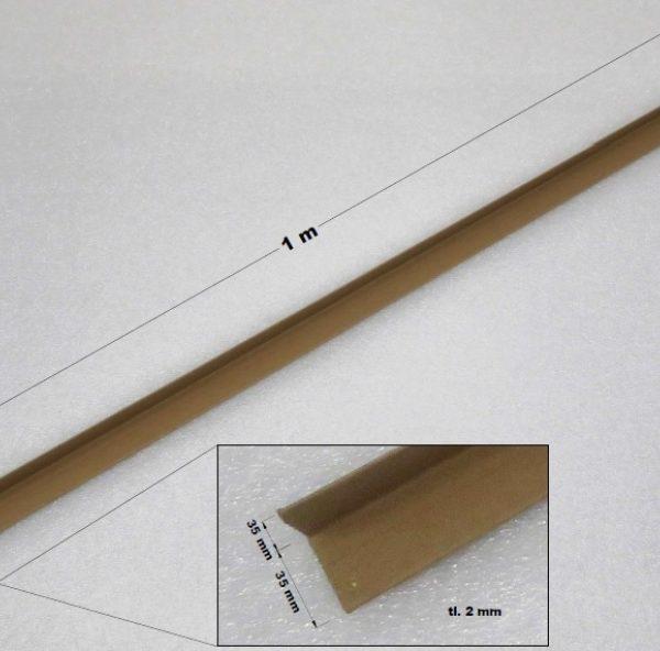 Ochranné rohy papírové 35 x 35 x 2 mm