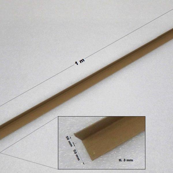 Ochranné rohy papírové 50 x 50 x 3 mm