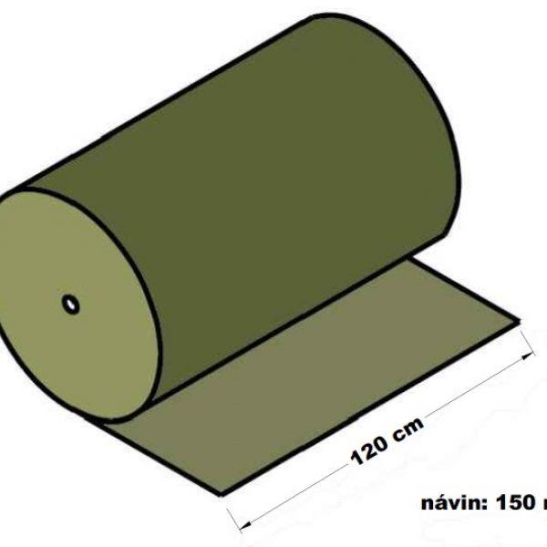 Lepenka vlnitá dvouvrstvá papírová 120 cm x 150 m