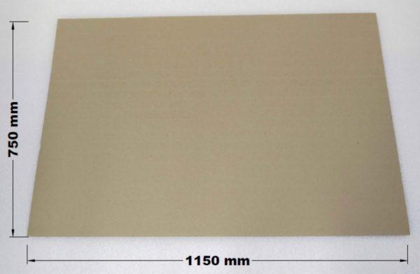 Proložka na paletu ze strojní lepenky 1150 x 750 mm
