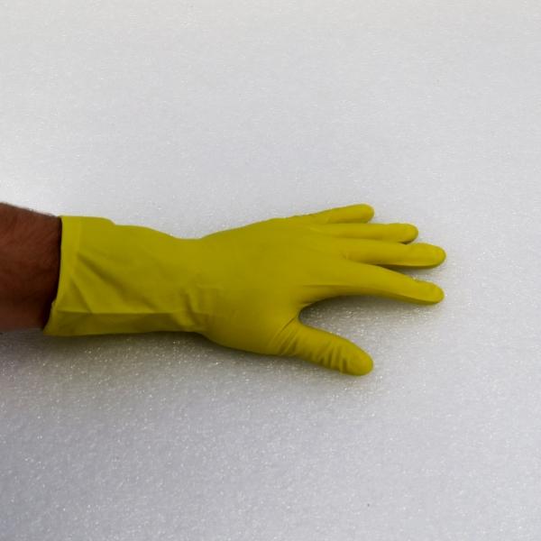 SHIELD rukavice gumové žluté