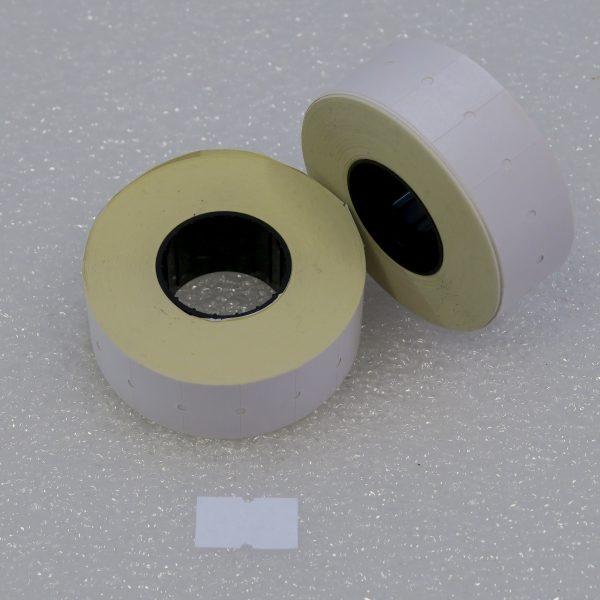 Etiketovací kotoučky - 21x12 jednořadé  COLA PLY