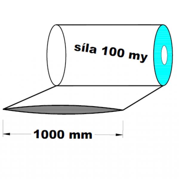 LDPE fólie hadice 1.A kvalita 1000 mm 100 my 1 kg