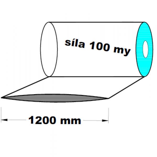 LDPE fólie hadice 1.A kvalita 1200 mm 100 my 1 kg