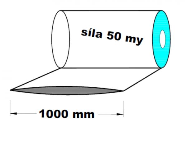 LDPE fólie hadice 1000 mm 50 my 1 kg