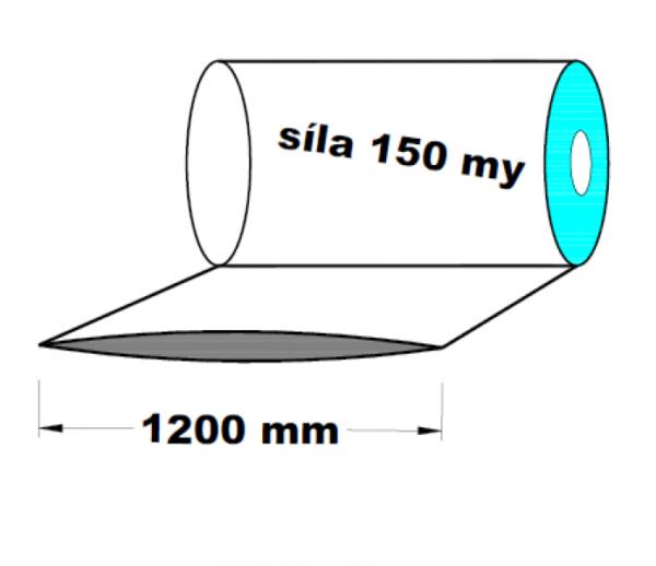 LDPE fólie hadice 1200 mm 150 my 1 kg