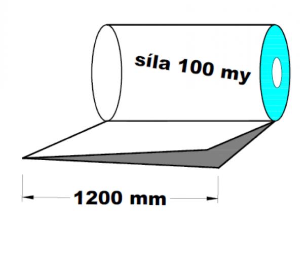 LDPE fólie polohadice 1.A kvalita 1200 mm 100 my 1 kg