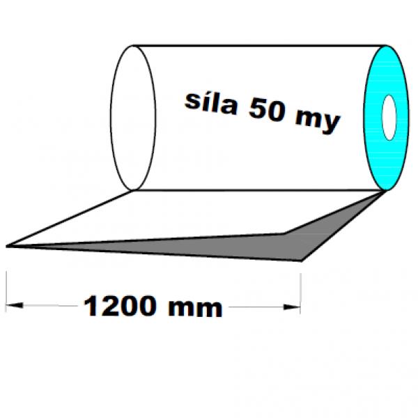 LDPE fólie polohadice 1.A kvalita 1200 mm 50 my 1 kg