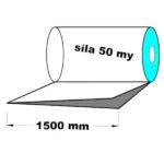 LDPE fólie polohadice 1500 mm 50 my 1 kg