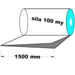 LDPE fólie polohadice 1500 mm 100 my 1 kg