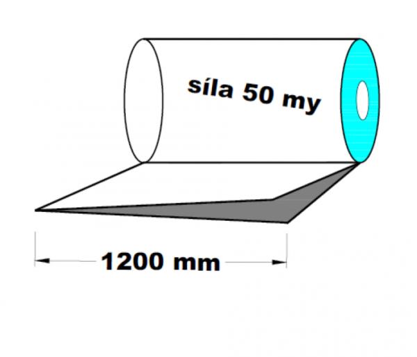 LDPE fólie polohadice 1200 mm 50 my 1 kg