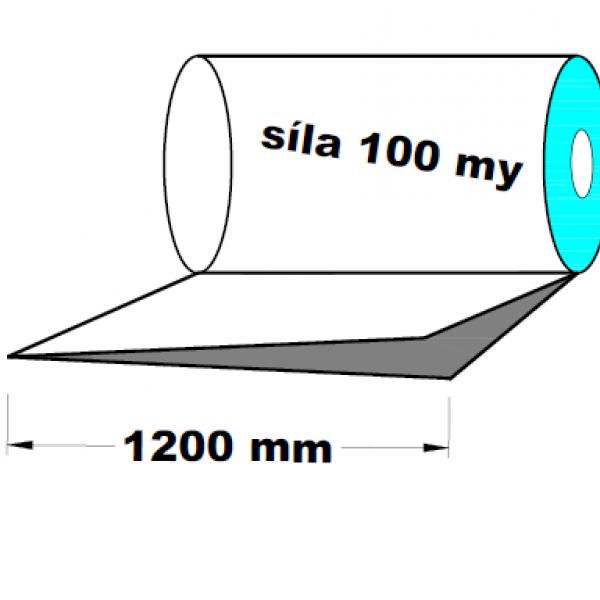 LDPE fólie polohadice 1200 mm 100 my 1 kg
