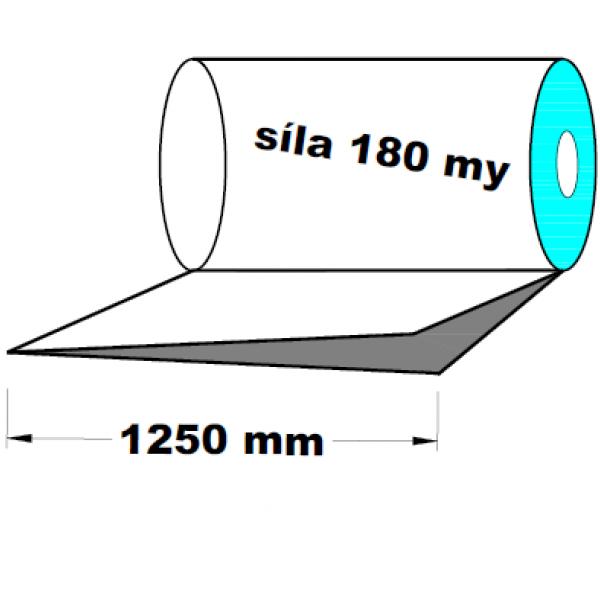 LDPE fólie polohadice 1250 mm 180 my 1 kg