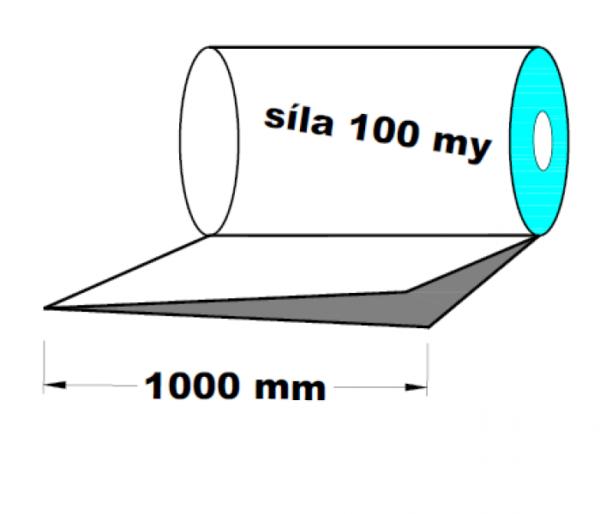 LDPE fólie polohadice 1000 mm 100 my 1 kg