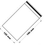 Rychlouzavírací sáček 12x18 cm 100 ks