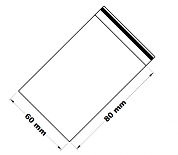Uzavíratelné zip sáčky 6 x 8 cm [100 ks]