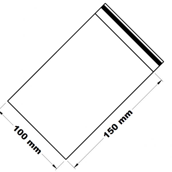 Uzavíratelné zip sáčky 10 x 15 cm [100 ks]