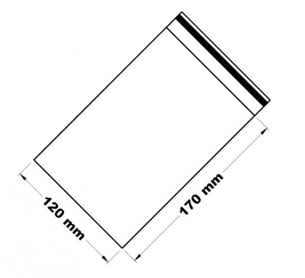 Uzavíratelné zip sáčky 12 x 17 cm [100 ks]