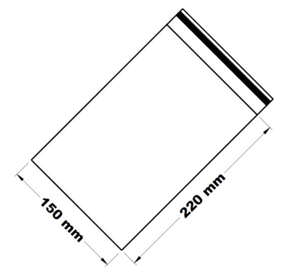 Uzavíratelné zip sáčky 15 x 22 cm [100 ks]