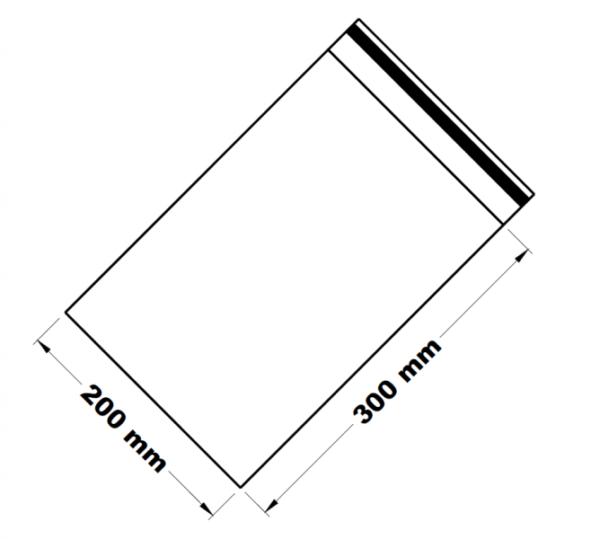Uzavíratelné zip sáčky 20 x 30 cm [100 ks]
